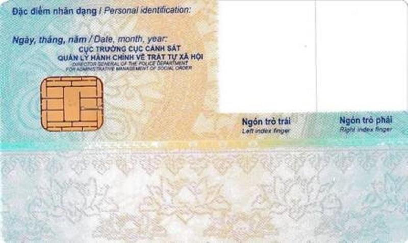 Bộ Công an có quy định cụ thể về mẫu thẻ CCCD gắn chip - ảnh 2