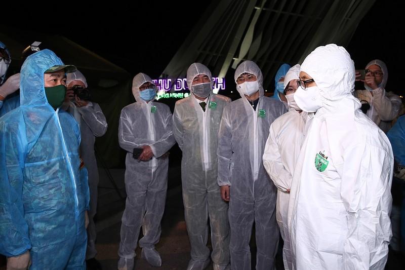 Phó Thủ tướng Vũ Đức Đam thị sát 2 ổ dịch Chí Linh, Đông Triều - ảnh 2