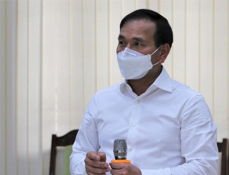 Phó chủ tịch tỉnh Hải Dương họp 'nóng' tại tâm dịch Cẩm Giàng - ảnh 1