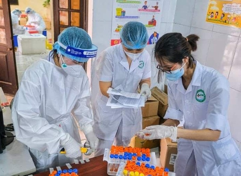 Chiến lược xét nghiệm 4 lớp tại 'tâm dịch' Bắc Ninh - ảnh 1