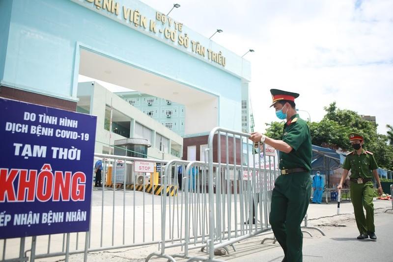 Bệnh viện K Tân Triều dỡ phong tỏa sau 1 tháng cách ly vì COVID-19 - ảnh 2