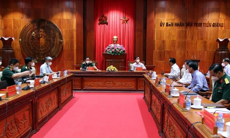 Sau khi Thủ tướng chấn chỉnh, Bộ Y tế làm việc với Tiền Giang về chống dịch - ảnh 1