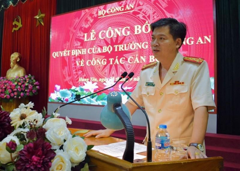 Bộ Công an điều động Giám đốc công an Thái Bình về Hưng Yên - ảnh 1