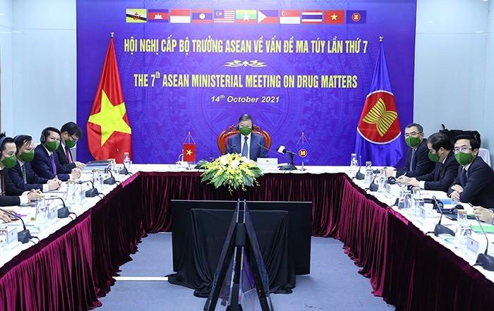 Bộ trưởng Tô Lâm: 'Việt Nam không khoan nhượng với tội phạm ma túy' - ảnh 1
