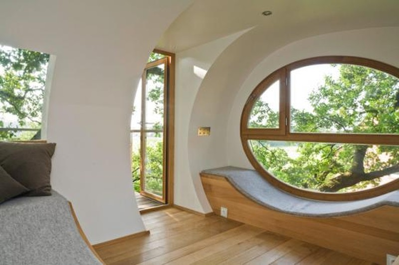 Độc đáo ngôi nhà trên cây có chức năng xả stress - ảnh 5