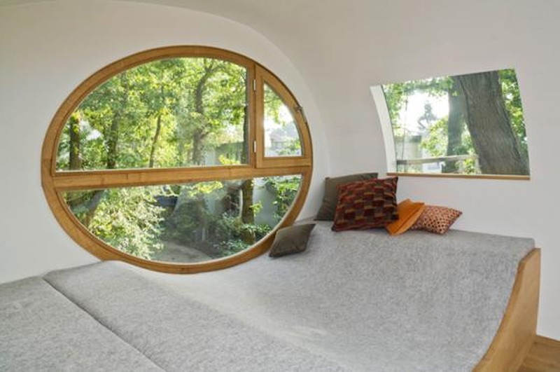 Độc đáo ngôi nhà trên cây có chức năng xả stress - ảnh 7