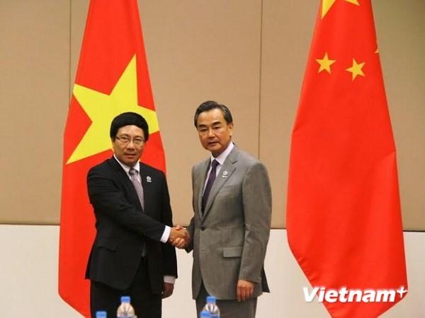 Phó Thủ tướng Phạm Bình Minh gặp Ngoại trưởng Trung Quốc - ảnh 1