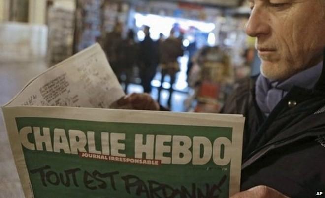 Nhiều nước phản ứng dữ dội về ấn phẩm mới của Charlie Hebdo - ảnh 1