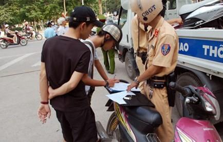 Thẩm quyền xử phạt hành vi vi phạm giao thông đường bộ -Phần 2 - ảnh 2