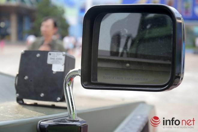 Cận cảnh xe chống đạn RAM-MKIII của lực lượng an ninh Việt Nam - ảnh 6