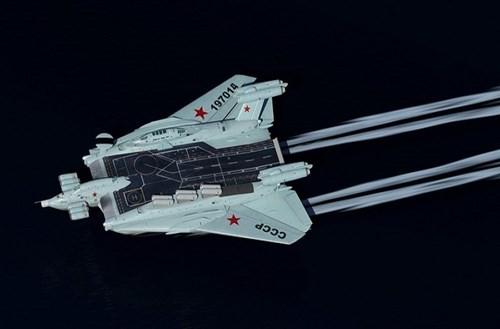 Hé lộ về dự án tàu sân bay 'cực độc' của Liên Xô - ảnh 1