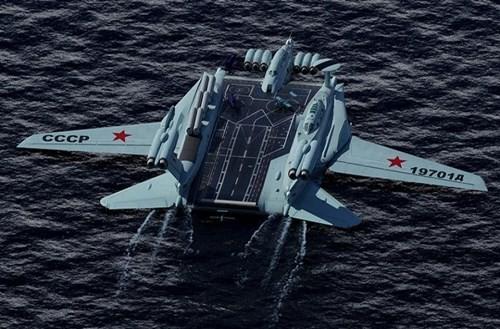Hé lộ về dự án tàu sân bay 'cực độc' của Liên Xô - ảnh 2