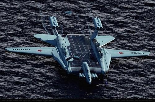 Hé lộ về dự án tàu sân bay 'cực độc' của Liên Xô - ảnh 6