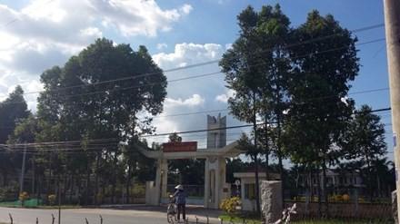 Trụ sở Lữ đoàn 25 nơi xảy ra vụ nổ đạn.