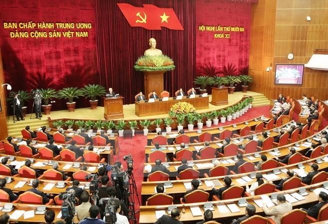 Ngày làm việc thứ 7 Hội nghị lần thứ 13 Ban Chấp hành Trung ương Đảng - ảnh 1