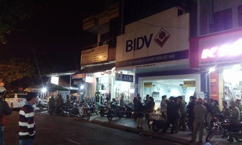 Cướp Ngân hàng BIDV ở Huế - ảnh 1
