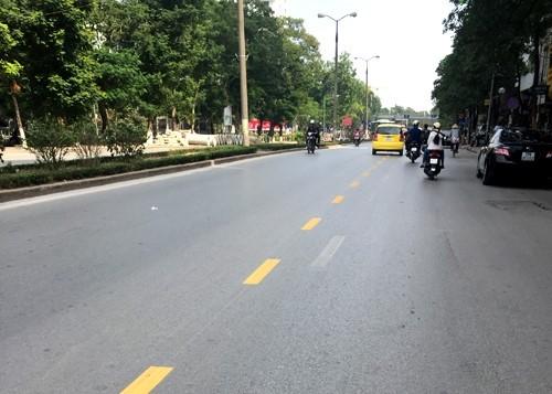 Quy định mới vạch vàng-trắng ở Việt Nam? - ảnh 1