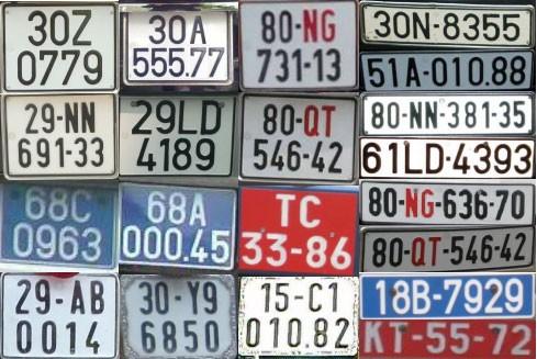 Tìm hiểu về các loại biển số xe tại Việt Nam - ảnh 2