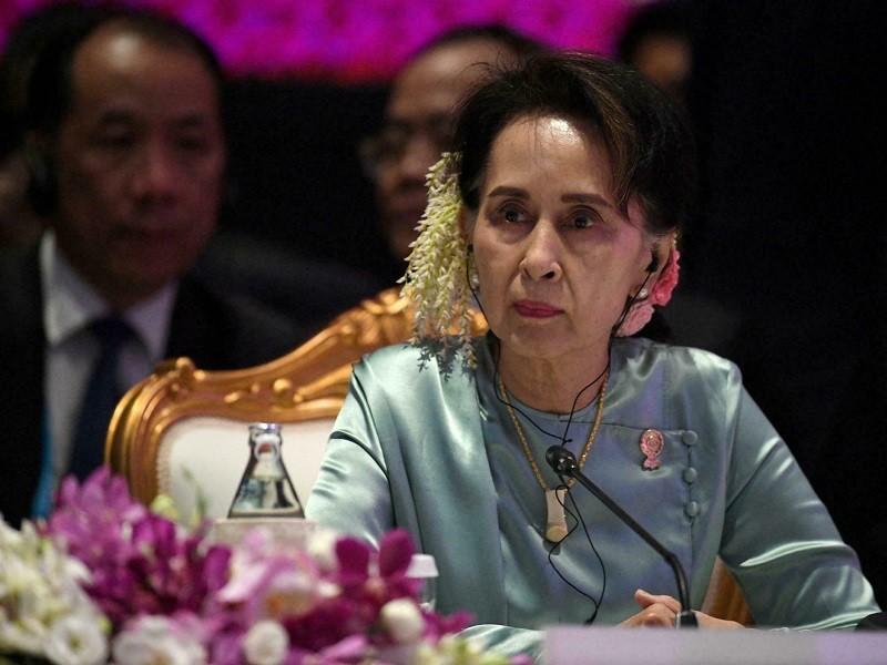 Bà Suu Kyi 'không bình luận' về lời kêu gọi chiến tranh chống quân đội Myanmar - ảnh 1