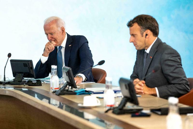 Điện đàm, ông Biden và ông Macron hẹn sẽ gặp trực tiếp trong tháng 10 - ảnh 1