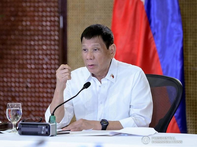 Ông Duterte định bắt buộc toàn dân tiêm vaccine ngừa COVID-19 - ảnh 1
