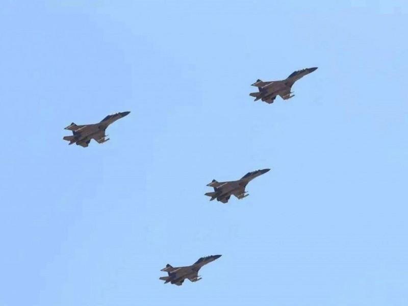 Trung Quốc điều 56 máy bay áp sát, Đài Loan 'rất lo ngại' chiến tranh - ảnh 1