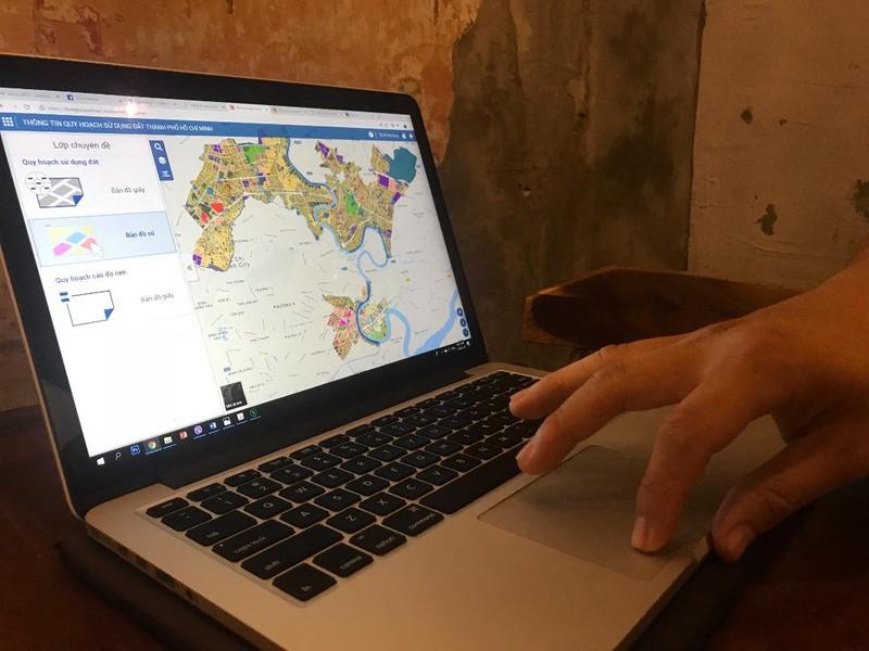 Người dân TP.HCM dễ dàng xem quy hoạch qua điện thoại - ảnh 1