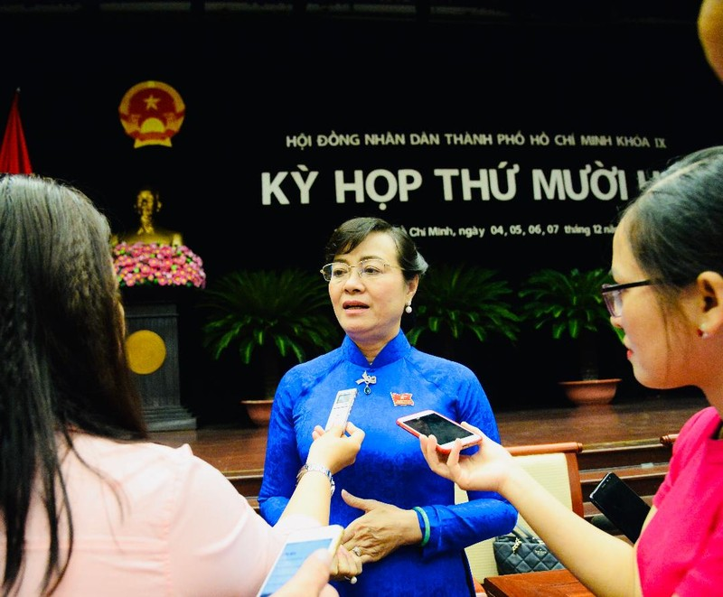 Bà Nguyễn Thị Quyết Tâm nói về kết quả lấy phiếu tín nhiệm - ảnh 1