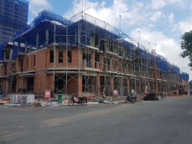 Vụ xây 'lụi' 110 biệt thự: Chủ đầu tư vẫn khẳng định không sai - ảnh 2