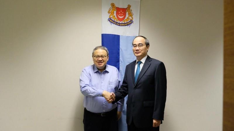 TP.HCM tăng cường hợp tác về giáo dục với Singapore - ảnh 4