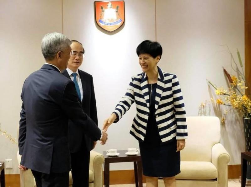 TP.HCM tăng cường hợp tác về giáo dục với Singapore - ảnh 2