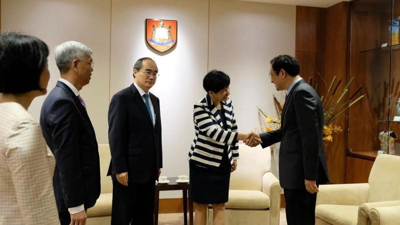 TP.HCM tăng cường hợp tác về giáo dục với Singapore - ảnh 3