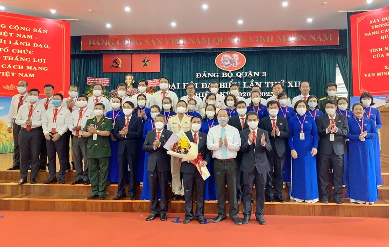 Ông Phạm Thành Kiên tái đắc cử Bí thư quận ủy quận 3 - ảnh 1