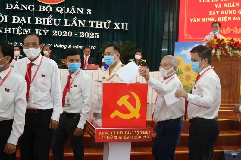 Ông Phạm Thành Kiên tái đắc cử Bí thư quận ủy quận 3 - ảnh 2