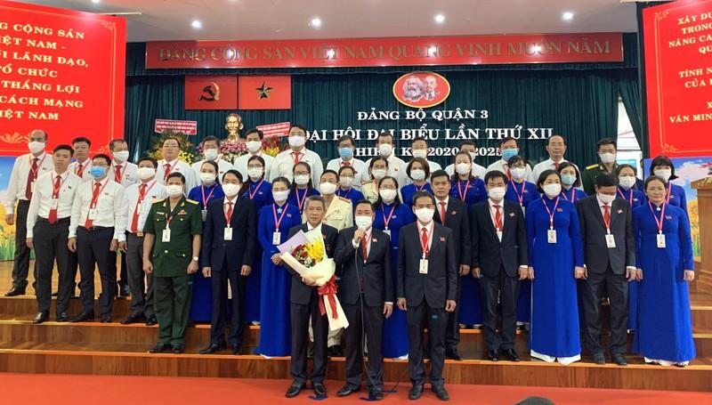 Ông Phạm Thành Kiên tái đắc cử Bí thư quận ủy quận 3 - ảnh 3