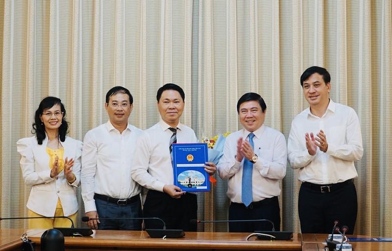 Bí thư huyện Bình Chánh làm Giám đốc Sở Xây dựng TP.HCM - ảnh 1