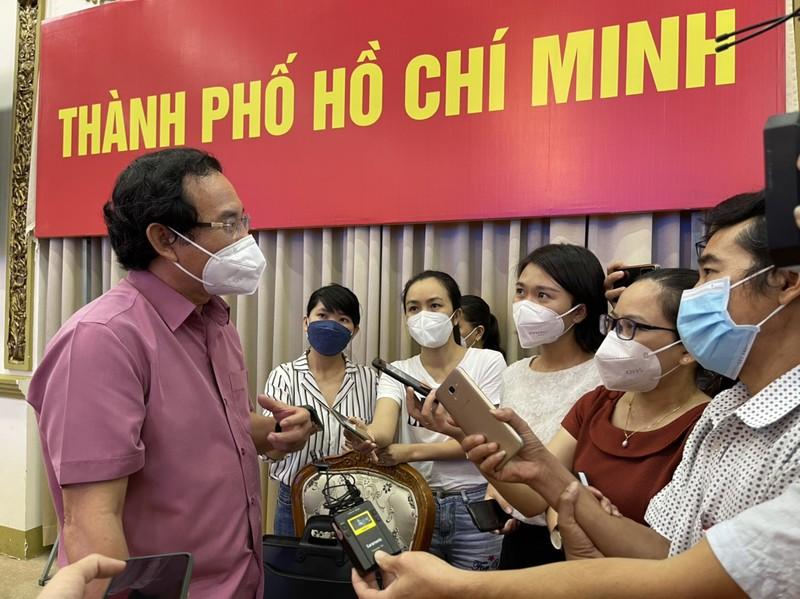 Bí thư Thành ủy Nguyễn Văn Nên nói về việc hỗ trợ 1.500 học sinh mồ côi vì COVID - ảnh 1