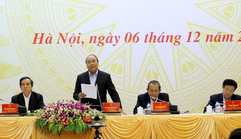 """Thủ tướng Nguyễn Xuân Phúc: """"Đồng chí Tổng kiểm toán điện thoại nói với tôi có DN xác định giá trị DN, khi kiểm toán toán xác định lại chênh lệch nhau 10 nghìn tỷ"""""""
