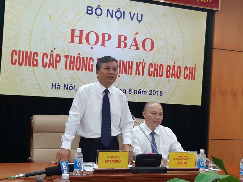 Bộ Nội vụ nói về việc sắp xếp bộ máy của Bộ Công an - ảnh 1