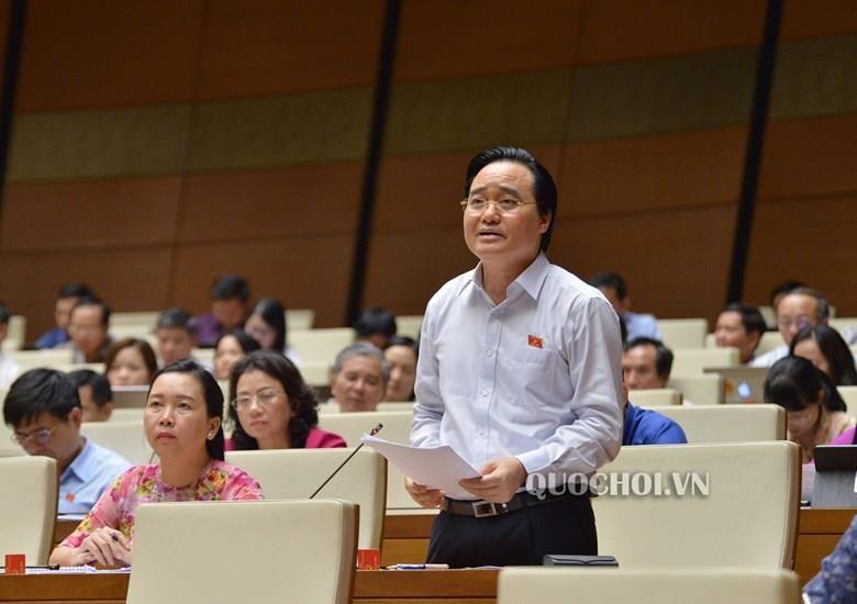 Bộ trưởng Phùng Xuân Nhạ nhận trách nhiệm vụ gian lận thi cử  - ảnh 1