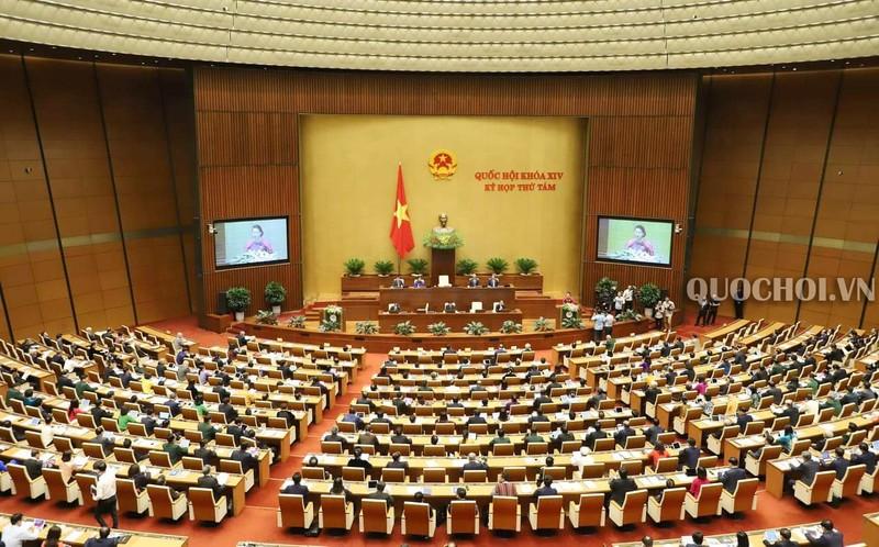 Kỳ họp Quốc hội tháng 5 tới dự kiến họp trực tuyến - ảnh 1