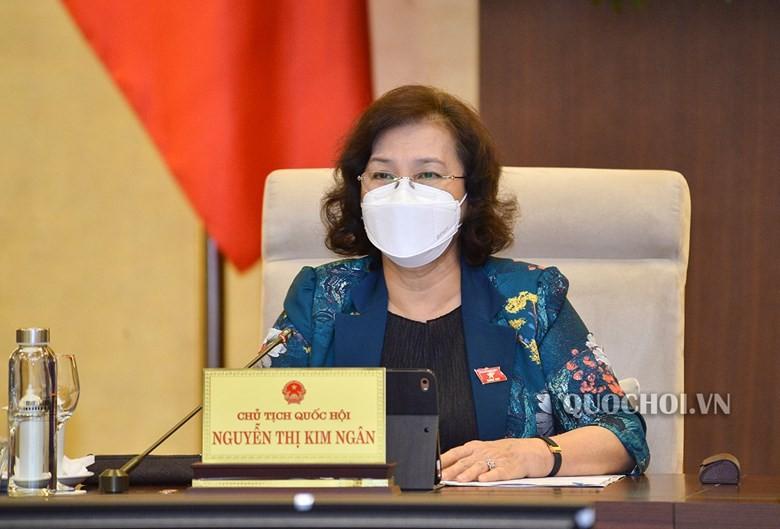 Chủ tịch Quốc hội nói về việc lãng phí tài sản xã hội - ảnh 2