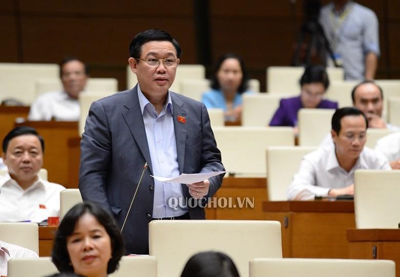 Trình miễn nhiệm chức vụ Phó Thủ tướng với ông Vương Đình Huệ - ảnh 1