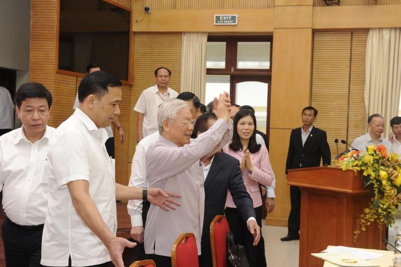 Tổng bí thư: 'Cán bộ lãnh đạo Hà Nội phải bản lĩnh, trí tuệ' - ảnh 1