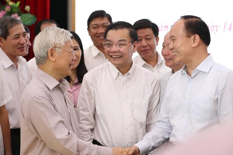 Tổng bí thư: 'Cán bộ lãnh đạo Hà Nội phải bản lĩnh, trí tuệ' - ảnh 2