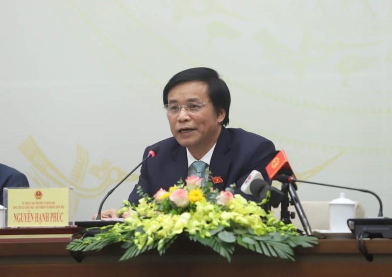 Quốc hội sẽ bãi nhiệm tư cách đại biểu của ông Phạm Phú Quốc - ảnh 1