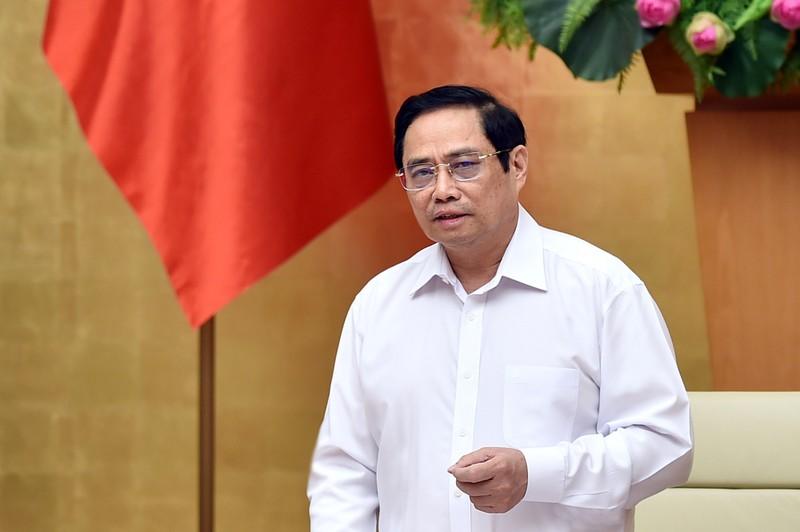 Thủ tướng yêu cầu quan tâm về vật chất, tinh thần đến tuyến đầu chống dịch  - ảnh 1