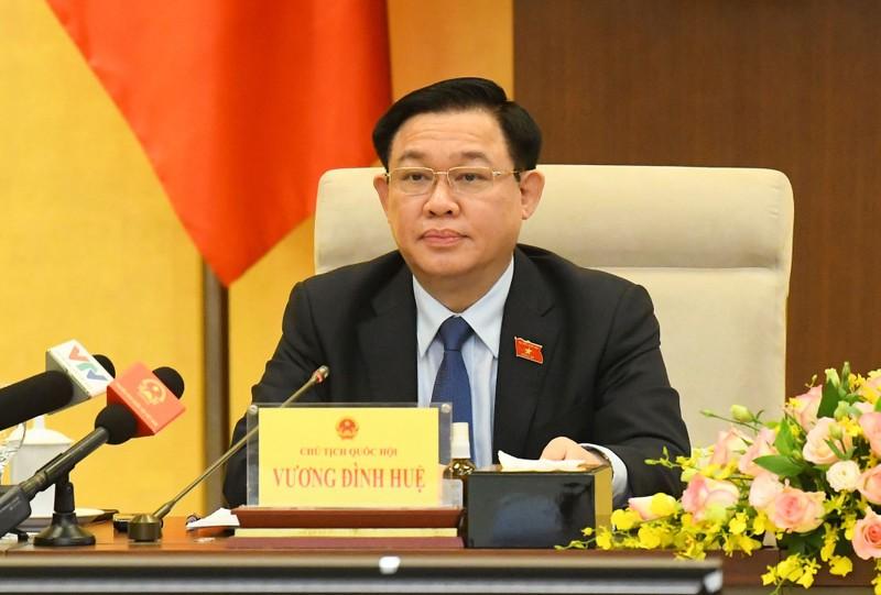 Chủ tịch Quốc hội: Cần một chương trình tổng thể về phục hồi kinh tế sau dịch - ảnh 1