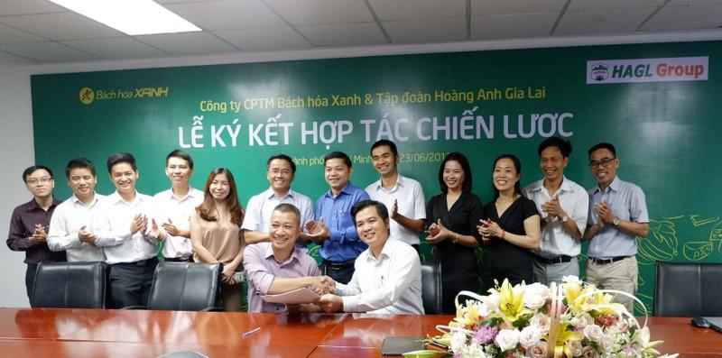 Bách hóa Xanh và  HAGL ký thỏa thuận hợp tác - ảnh 1