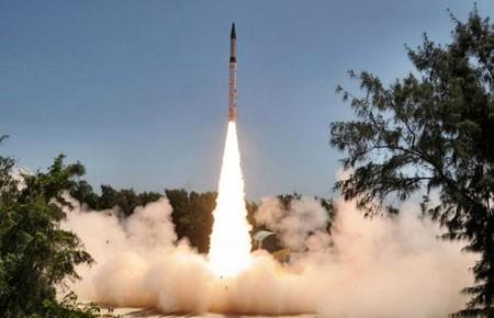 Ấn Độ thử thành công tên lửa mới - ảnh 1